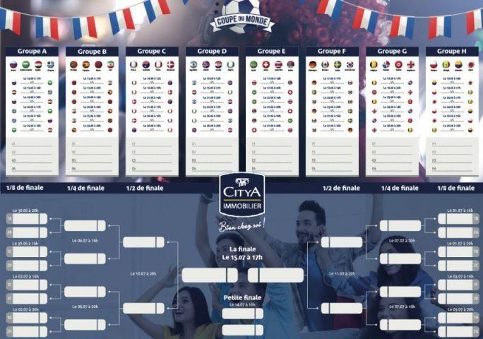 Coupe Du Monde De Football Calendrier.Avis Aux Amateurs De Foot Imprimez Le Calendrier De La
